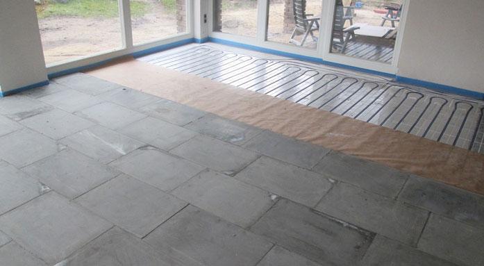 Montage CompactFloor EXPERT auf Fußbodenheizung