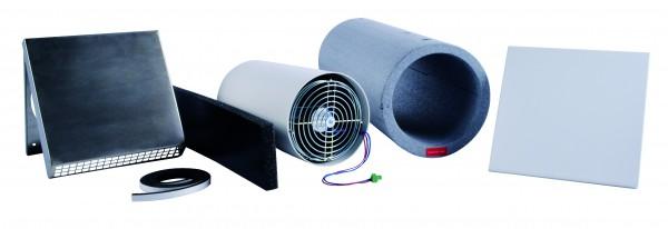 AirUnit Installations-Set 500 / 1000, Edelstahl